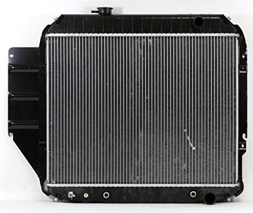 Radiator - Pacific Best Inc For/Fit 1329 90-91 Ford Econoline Van Automatic 6Cy 4.9L WITH Sensor