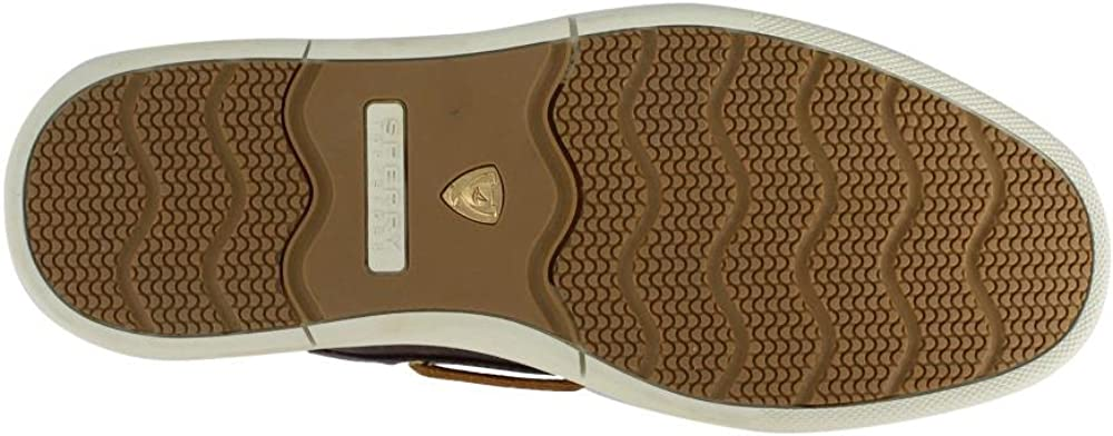 SPERRY Mens Gold Sport Casual 3-Eye w//ASV Brown Loafer