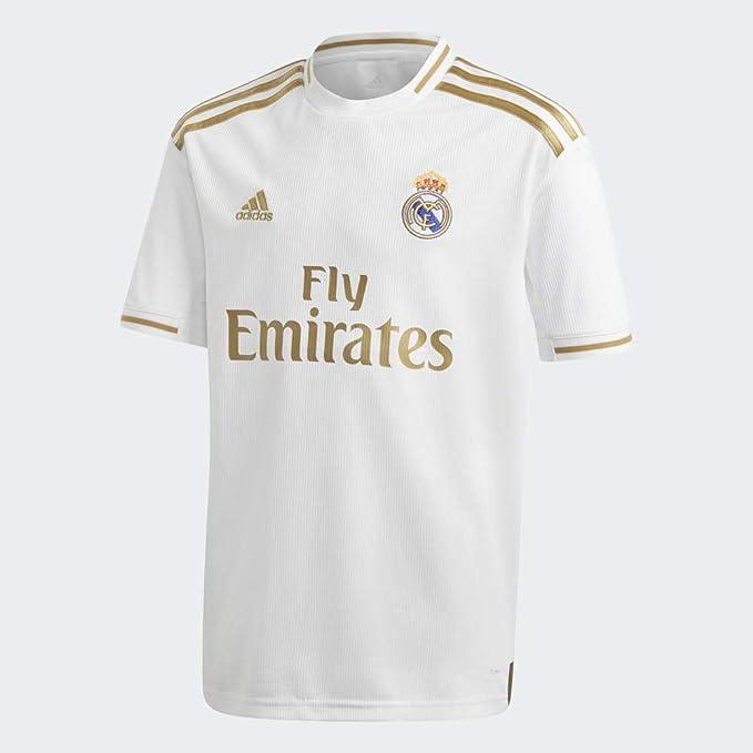 Adidas Real H Jsy Y Camiseta, Unisex Niños: Amazon.es: Deportes y aire libre