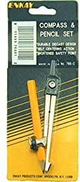Enkay 768-C Compass & Pencil, carded
