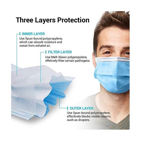 Masken-Mundschutz-Einweg-Masken-50-Stck-Medizinische-Maske-EN14683-Type-II-3-lagige-Nasen-Mundschutz-Maske-Unisex-Blau
