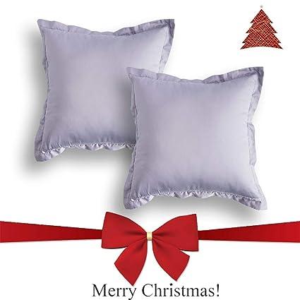 Amazoncom Jeanerlor 100 Cotton Square Decorative Throw Pillow
