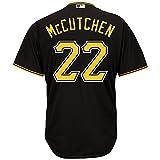 Andrew McCutchen Pittsburgh Pirates MLB Majestic Youth Black Alternate Replica Jersey