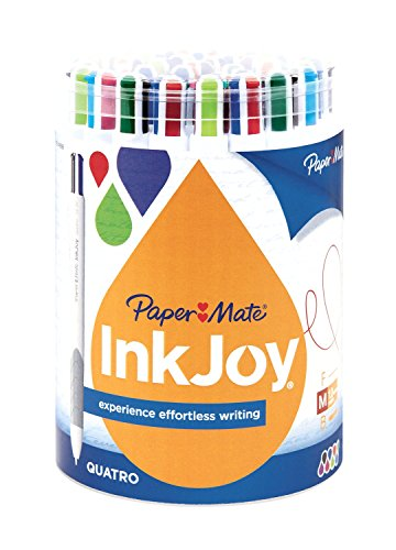 paper-mate-inkjoy-quatro-4-color-ballpoint-pen-assorted-colors-medium-10-mm-36-pack
