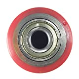 """Pallet Jack Poly Load Wheels with Bearings 2.75""""D x 3.75""""W - A Pair"""