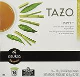 Keurig Tazo Zen Tea 32-Count K-Cups for Keurig Brewers
