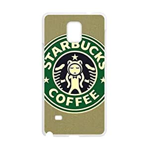 Happy Starbucks design fashion cell phone case for samsung galaxy note4