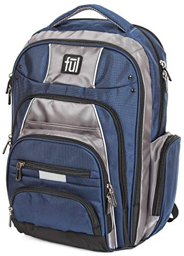 ful Big Unit 17-Inch Laptop Backpack (Navy)