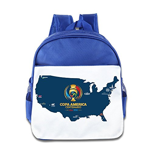 (USA Team Map Copa America Centenario 2016 Kids School Backpack)