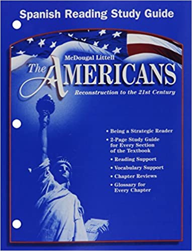 The Americans Grades 9 12 Reading Study Guide