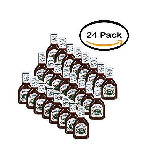 PACK OF 24 - Sweet Baby Ray's Barbecue Sauce Honey Chipotle,