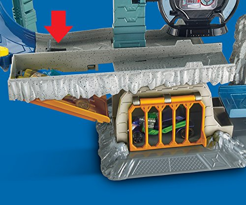 Free Comic Book Day Dubai: Hot Wheels DC Batcave Playset - Buy Online In UAE.