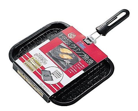 JapanBargain Shioyaki Fish Broiler Grill Rack Foldable Handle #H-8885 - Soul Fish