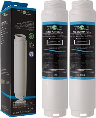 🥇 2 x FilterLogic FFL-110B Filtro de agua compatible con 3M UltraClarity 00740560