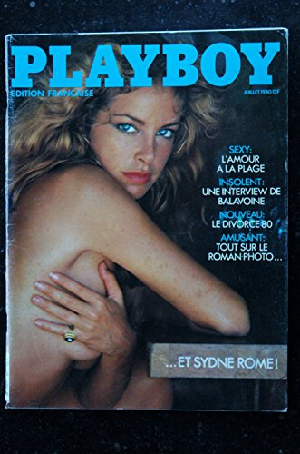 PLAYBOY 080 N° 80 FELLINI INTERVIEW DANIEL BALAVOINE SYDNE ROME NUE PHOTO SEXY EROTISME