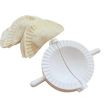 Dealglad® 3pcs empanada de masa Pastelería Pie Ravioli Dumpling Molde Prensa molde de clip eléctrica