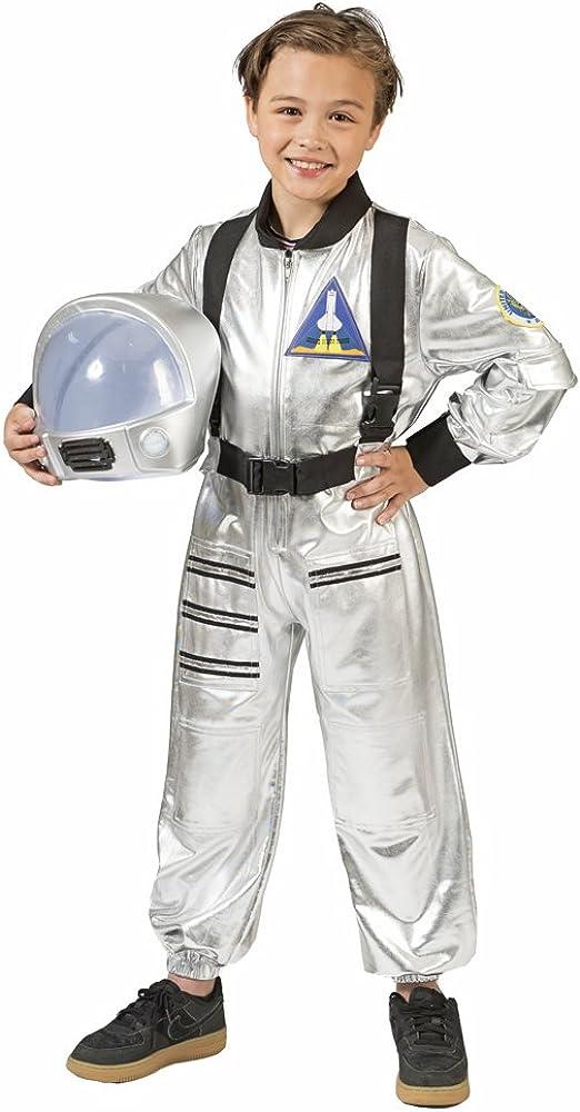 Disfraz infantil de astronauta, color plateado plata 14 años ...