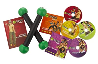 Zumba Fitness Total Body Transformation System DVD Set from Zumba Fitness