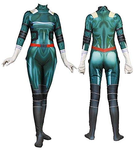 Uraraka Froppy Cosplay Costume Deku Izuku Midoriya Ochaco Uraraka Tsuyu Asui Boku No Hero Academia Lycra Suit Bodysuit