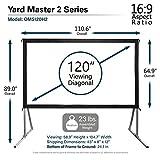 Elite Screens Yard Master 2, 120-inch Outdoor