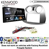 Volunteer Audio Kenwood DMX7705S Double Din Radio Install Kit with Apple CarPlay Android Auto Bluetooth Fits 2006-2012 Mitsubishi Eclipse