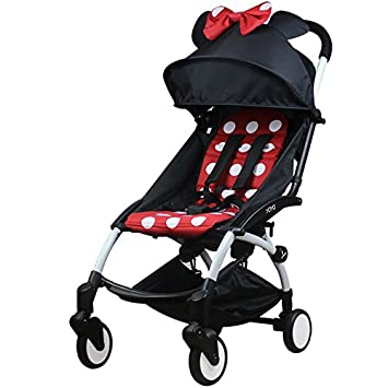 The first generation - black pole - Minnie Baby yoya baby stroller ultra-light umbrella folding baby carriage
