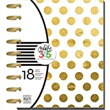 "Me and My BIG Ideas PLNR-05 Create 365 The Happy Planner ""Gold Foil Dots"" 18 Month Planner"
