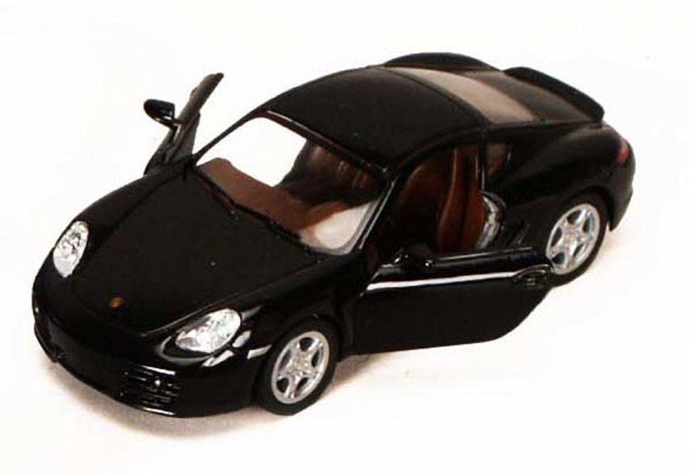 Kinsmart Porsche Cayman S Black 5307D 1 34 scale Diecast Model Toy Car but NO BOX