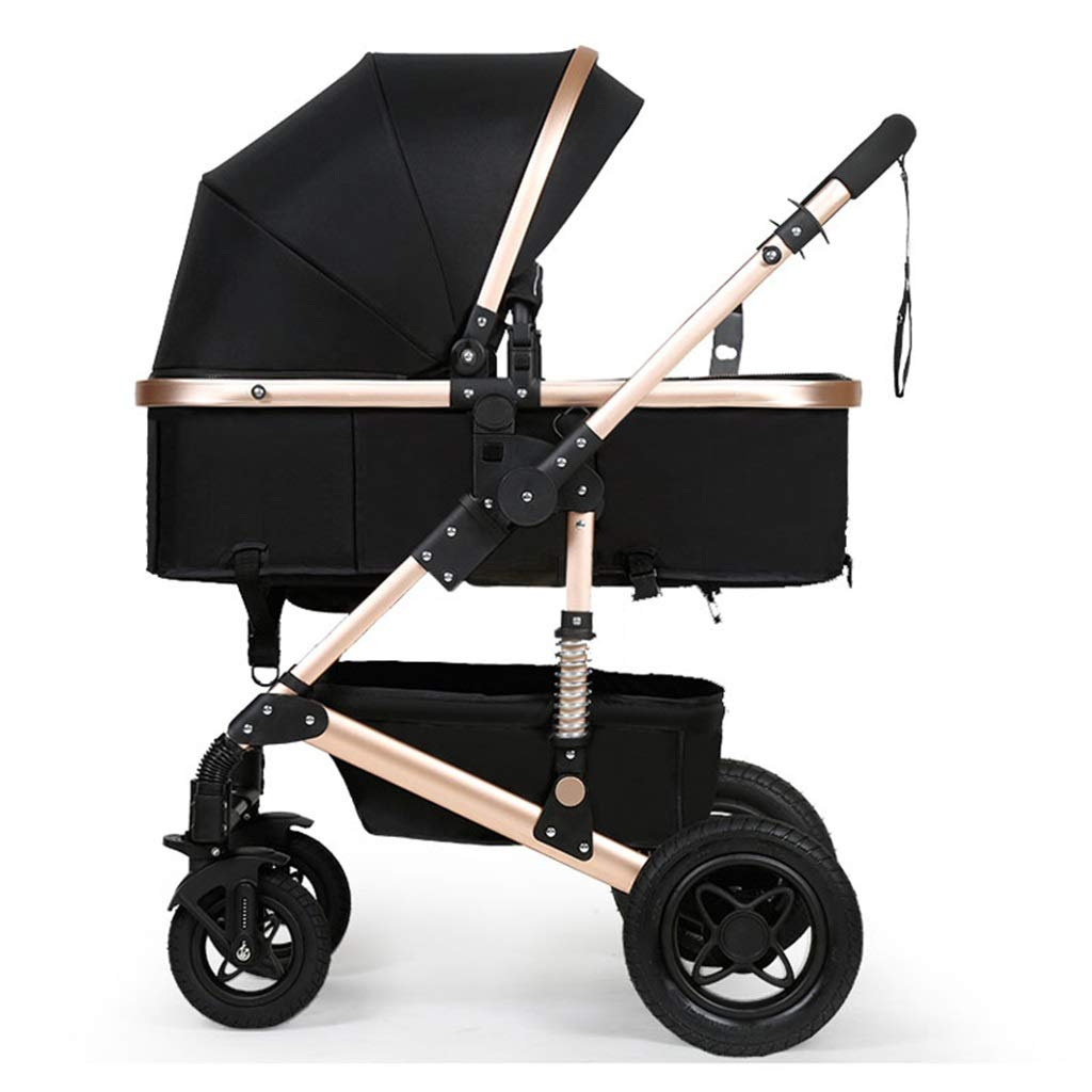 Cochecito de bebé de lujo para niños de 0-3 años cuna ...