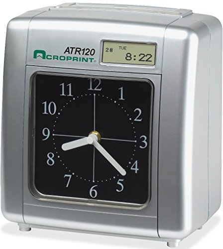 Model ATR120 Time Clock for Weekly/Biweekly Pay Periods (ACPATR120)