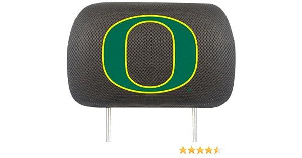 FANMATS  14772  NCAA University of Oregon Ducks Polyester Head Rest Cover