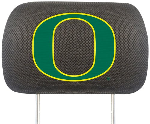Fanmats  14772 NCAA University of Oregon Ducks Polyester Head Rest Cover by Fanmats