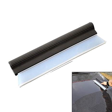 Limpiaparabrisas de cristal para coche, limpiaparabrisas de silicona suave y limpiador de limpieza de ventanas