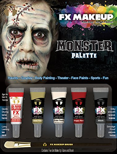 Tinsley Fx Colour Make Up Kits - Classic Monster Palette ()