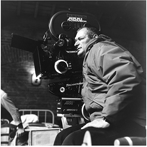 A Very Long Engagement Director Jean-Pierre Jeunet Peering Through Camera Lens Black and White 8 x 10 inch - Lenses Chanel