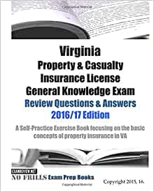 Virginia Property & Casualty Insurance License General