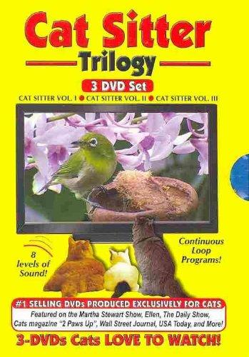 Cat Sitter DVD Trilogy - Vol 1, Vol 2 and Vol 3