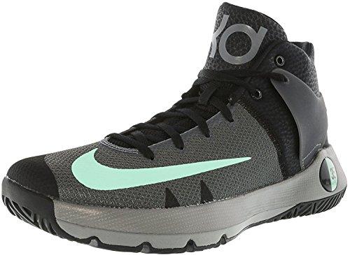 online store 49801 d73cd ... clearance nike trey kd grå svart 5 menns grønn mørk glød basketball sko  iv e5raexw 291e8