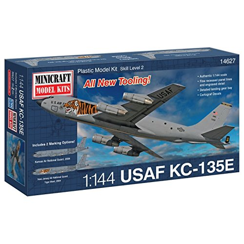 (Minicraft KC-135E USAF ANG Airplane Model Kit (1/144 Scale))