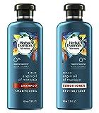 Herbal Essences Bio:Renew Argan Oil Of Morocco Repair Shampoo and Conditioner 3.38 Oz Each Travel Size.