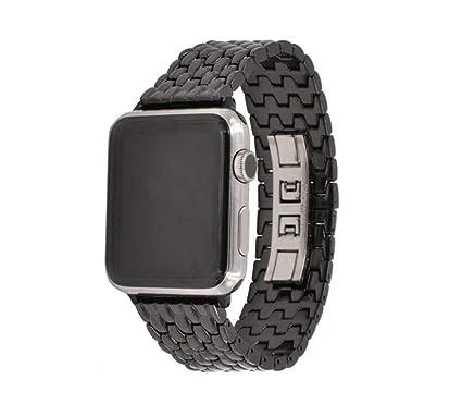 kaige Correa de Apple Watch para Apple Relojes Correa iwatch Cadena de Metal en Acero Inoxidable