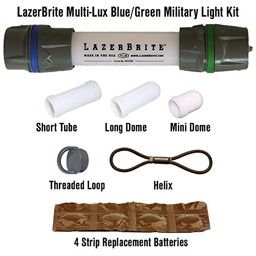 Lazerbrite Multi Lux Blue/Green Military Light Kit