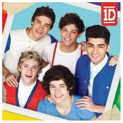amscan One Direction Small Napkins (16ct): Toys & Games