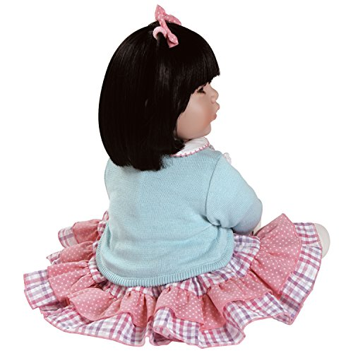 """Adora Toddler Smart Cookie 20"""" Girl Weighted Doll Gift Set for Children 6+ Huggable Vinyl Cuddly Snuggle Soft BodyToy Photo #2"""