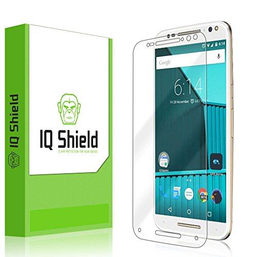 Motorola Moto X Pure Edition Screen Protector, IQ Shield LiQuidSkin Full Coverage Screen Protector for Motorola Moto X Pure Edition (Moto X Style) HD Clear Anti-Bubble Film - with