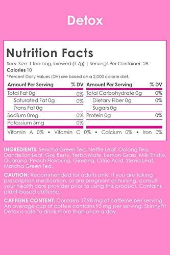 SkinnyFit Detox and ZzzTox 24/7 Bundle, 56 Servings, Supports Weight Loss, Helps Calm Bloating, All-Natural, Laxative-Free, Green Tea Leaves, Help Fight Toxins and Relieve Stress 6