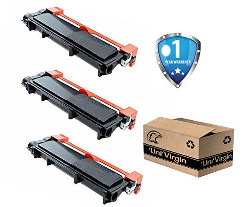 UniVirgin Compatible TN660 Toner Cartridge for Brother HL-2340DW HL-L2300D HL-L2360DW DCP-L2540DW DCP-L2520DW MFC-L2700DW MFC-L2740DW – Black, 3 pack