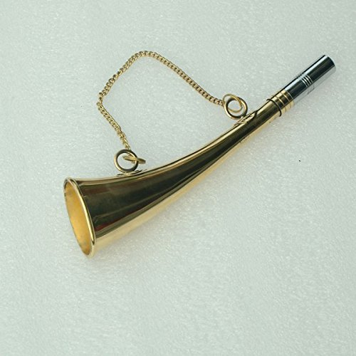 Herm Sprenger Polished Brass Signal Horn