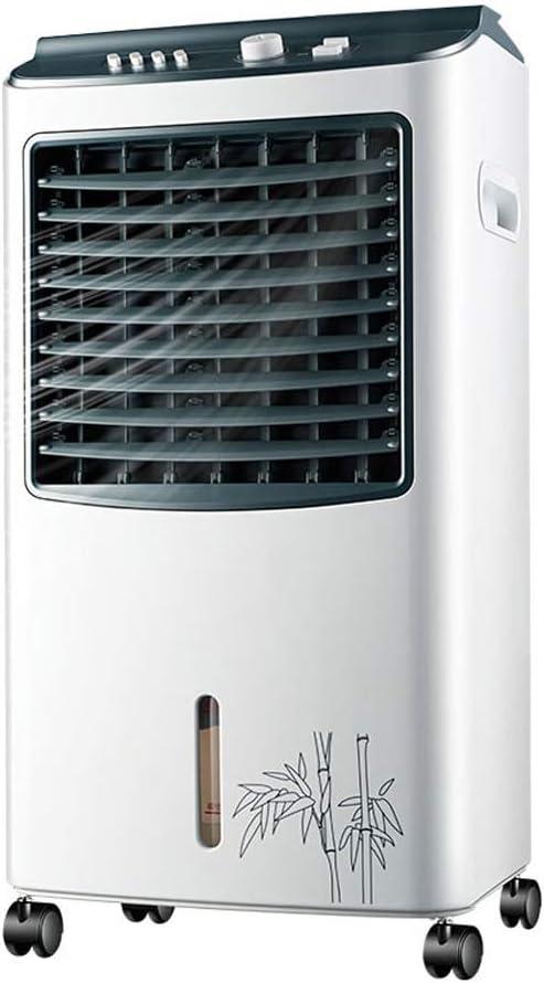Peaceip Ventilador silencioso Super Wind Quiet Industry 3-en-1 Ventilador de aire acondicionado mecánico con ventilador Humidificador y función de purificador de aire, 3 velocidades del ventilador con: Amazon.es: Hogar