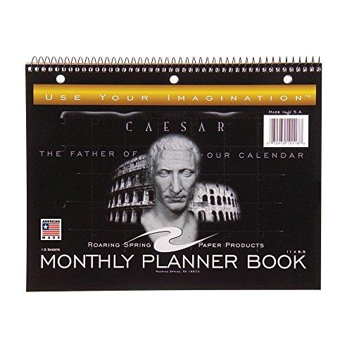 Roaring Spring Undated Calendar Notebook, 11